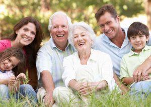 Família álbum fotográfico